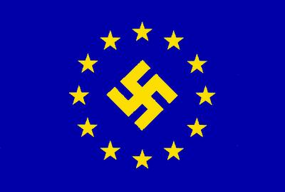 La bandera de la UE en poco tiempo